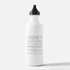 Prefer Libertarians Water Bottle
