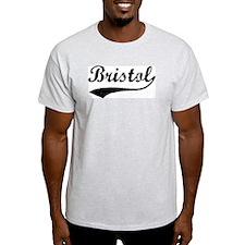 Vintage Bristol Ash Grey T-Shirt