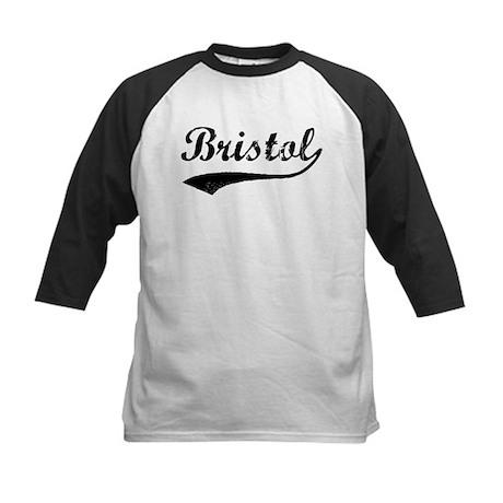 Vintage Bristol Kids Baseball Jersey