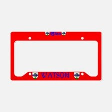 Clan Watson (Scottland) License Plate Holder