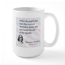 Franklin on...Money Mug