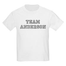 Team Anderson Kids T-Shirt