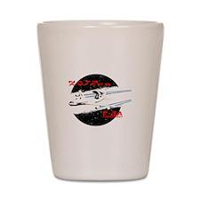 AWACS Shot Glass