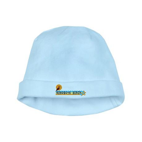 Rehoboth Beach DE - Beach Design baby hat