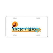 Rehoboth Beach DE - Beach Design Aluminum License