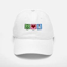Peace Love Badminton Baseball Baseball Cap