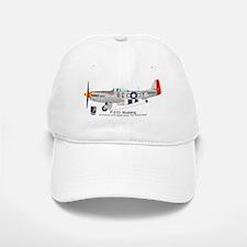 P-51 Mustang 332nd Fighter Group Baseball Baseball Cap