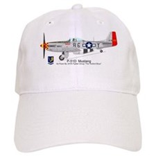 P-51 Mustang 332nd Fighter Group Baseball Cap
