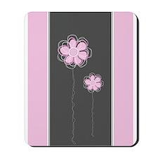 Trendy Floral Decor Mousepad