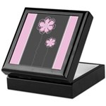 Trendy Floral Decor Keepsake Box