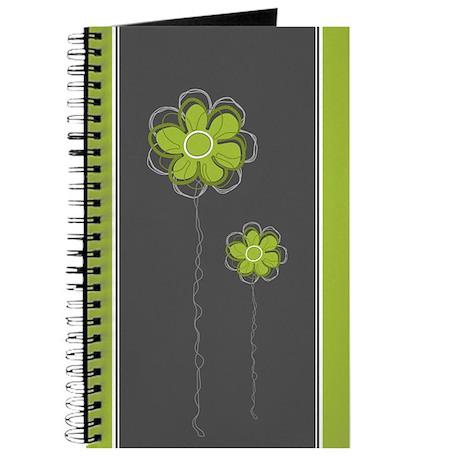 Trendy Floral Decor Journal