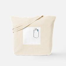 Cute Pocket images Tote Bag