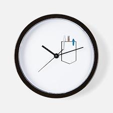 Cute Pocket image Wall Clock