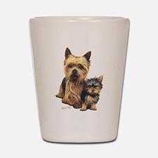 Yorkshire Terrier Shot Glass