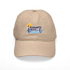 Rehoboth Beach DE - Beach Design Baseball Cap