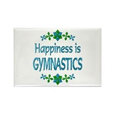 Happiness Gymnastics Rectangle Magnet (10 pack)