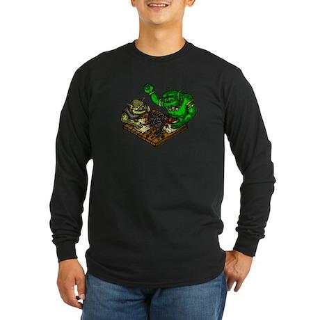 Trolls role-playing Long Sleeve Dark T-Shirt