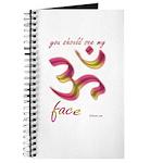 Ohm/Aum Face Meditation/Yoga Journal