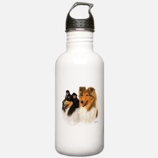 Rough Collie Water Bottle