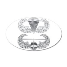 Airborne and Air Assault 38.5 x 24.5 Oval Wall Pee