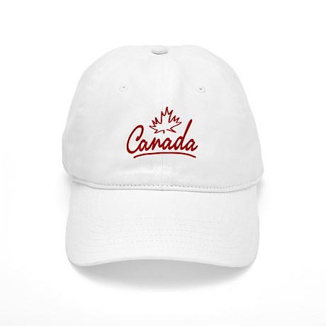 Canada Leaf Script Cap