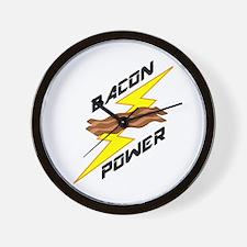 Bacon Power Wall Clock