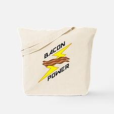 Bacon Power Tote Bag