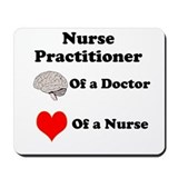 Nurse practitioner Mouse Pads