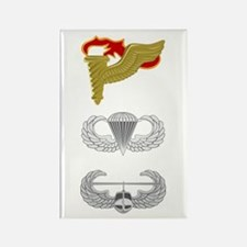 Pathfinder Airborne Air Assault Rectangle Magnet
