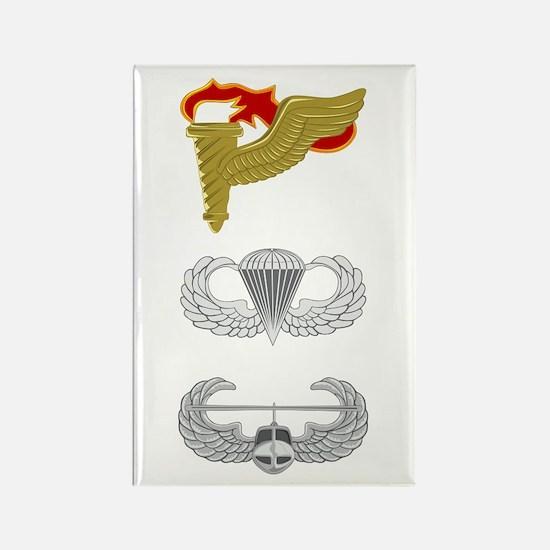 Pathfinder Airborne Air Assault Rectangle Magnet