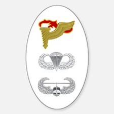Pathfinder Airborne Air Assault Sticker (Oval)