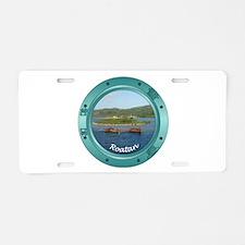 Roatan Porthole Aluminum License Plate