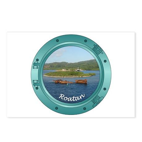 Roatan Porthole Postcards (Package of 8)