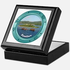 Roatan Porthole Keepsake Box