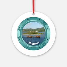 Roatan Porthole Ornament (Round)