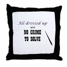 CastleTV All Dressed Up... Throw Pillow