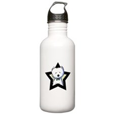 Westie Star Water Bottle