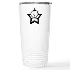 Westie Star Travel Mug