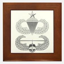 Airborne Senior Air Assault Framed Tile