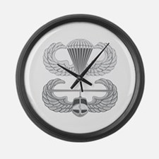 Airborne and Air Assault Large Wall Clock