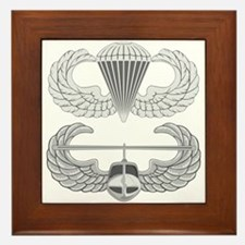 Airborne and Air Assault Framed Tile
