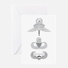 HALO JM Airborne Master Air Assault Greeting Card