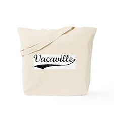 Vintage Vacaville Tote Bag