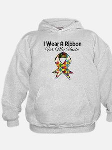 Autism Ribbon My Uncle Hoodie