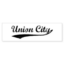 Vintage Union City Bumper Bumper Sticker