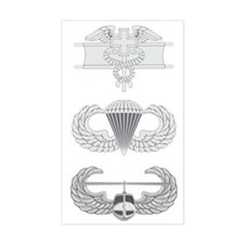 EFMB Airborne Air Assault Decal