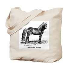 Canadian Horse Tote Bag