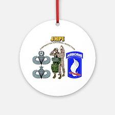 JMPI - 173rd Airborne Brigade Ornament (Round)
