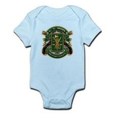 US Army MP Military Police Infant Bodysuit