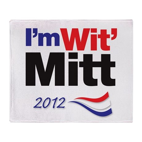 I'm Wit' Mitt Throw Blanket